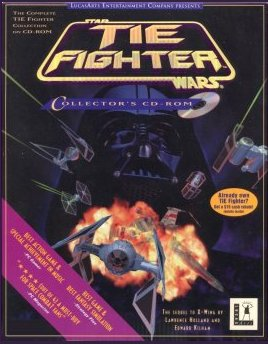 TIE Fighter Collector's CD-ROM Front Cover