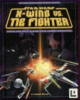 X-Wing vs. TIE Fighter Front Cover