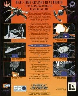 X-Wing vs. TIE Fighter  Back Cover