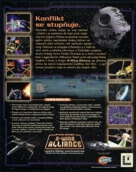 X-Wing Alliance Back Cover
