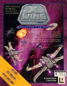 X-Wing Collector's CD-ROM Front Cover